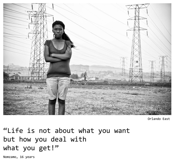 Nathalie Boucry Photography | Ikageng | Nomzamo