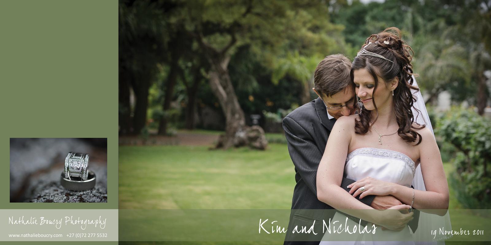 Nathalie Boucry Photography | Kim and Nicholas Wedding Album