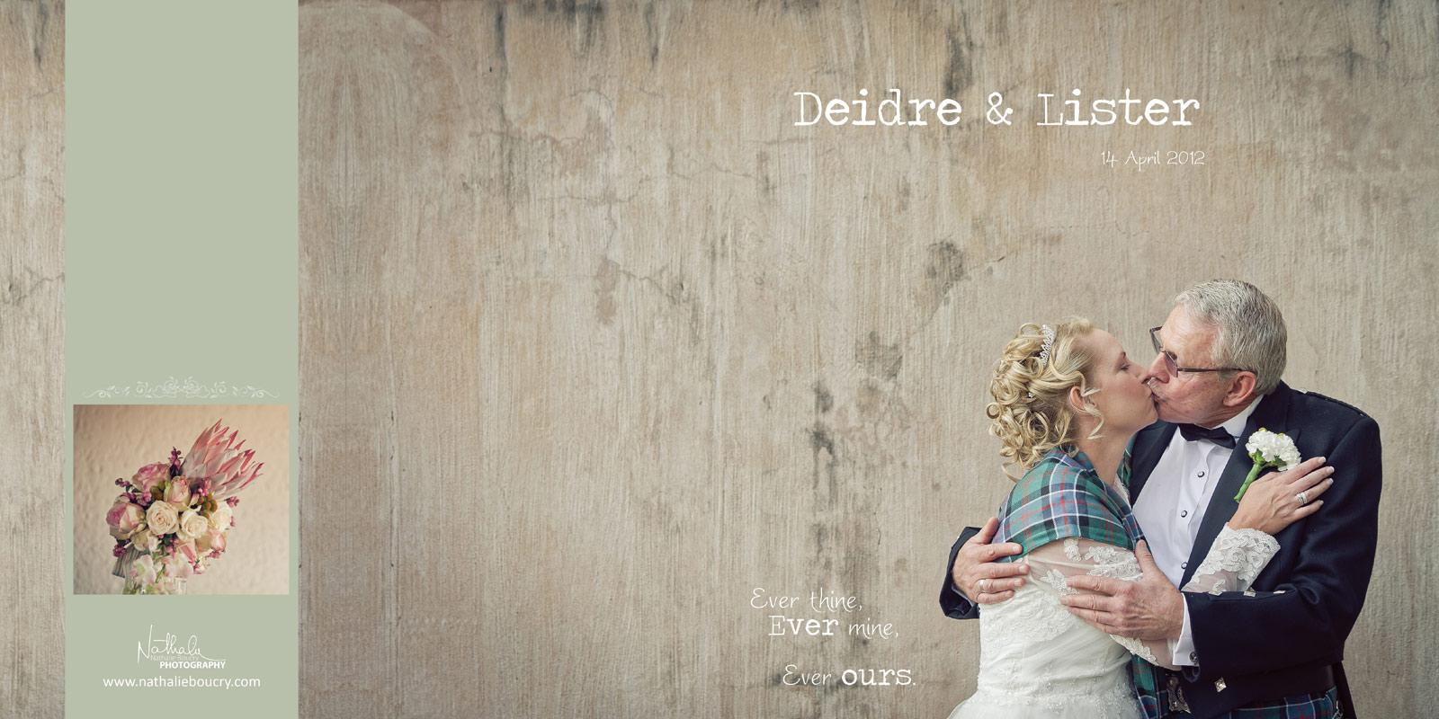 Nathalie Boucry Photography | Deidre and Lister Wedding Album